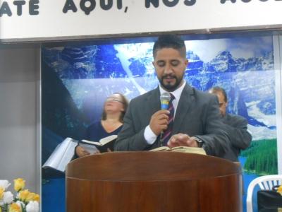 Culto com o pastor Herbertt William