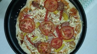 """Como preparar uma """"pizza gourmet caseira"""""""