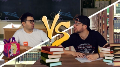 ESCOLA vs. FACULDADE ♫