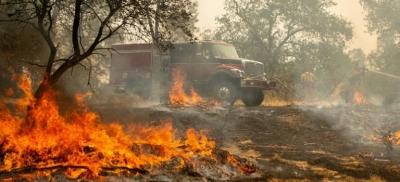 Pai provoca incêndio florestal ao revelar o sexo de seu bebê