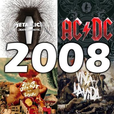 O melhor do rock em 2008