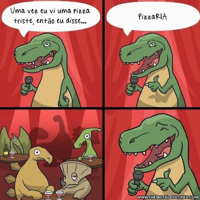 T-Rex humorista #3