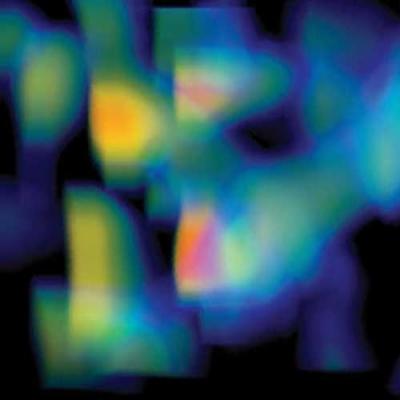 Novo mapa da matéria escura