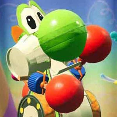 Reveja o mundo trabalhado de Yoshi para o Nintendo Switch
