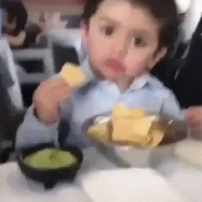Quando roubam a sua comida