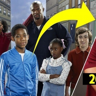 O atores de Todo Mundo Odeia o Chris antes e depois