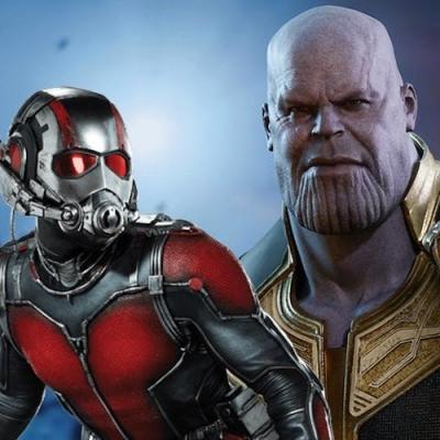 Homem-Formiga poderia destruir o Thanos de dentro pra fora?