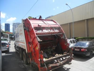 Melhorias na coleta do lixo