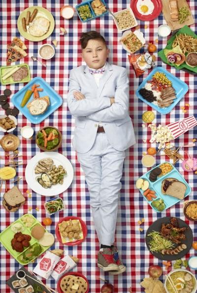 Imagens mostram o que crianças de diferentes países comem em uma semana