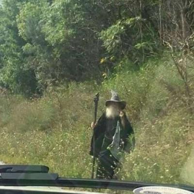 Gandalf na carona