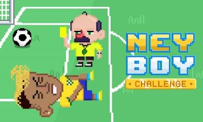 Neyboy Challenger: tente manter o Neymar em pé