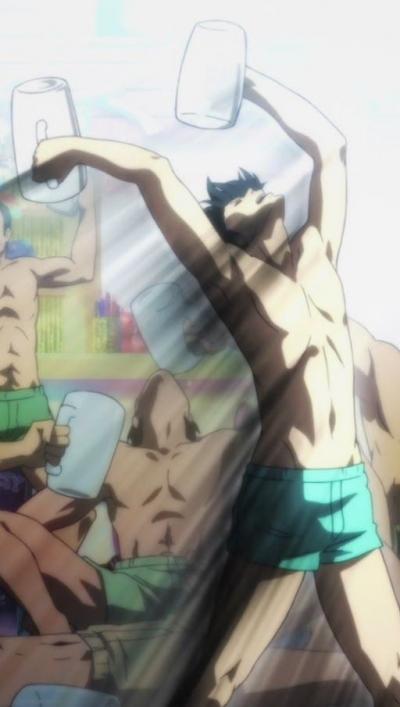Grand Blue o anime do clube de mergulho cheio de bêbados é bom?