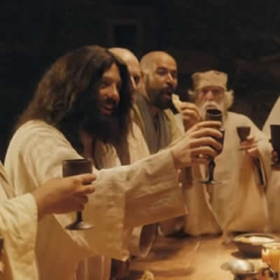"""""""Especial de Natal"""" do Portas dos Fundos mostra Jesus como um mágico beberrão"""