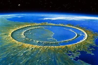 O dia em que um impacto pôs a Terra líquida