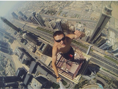 """Em busca da """"selfie perfeita"""", já causou 259 mortes em todo o mund"""