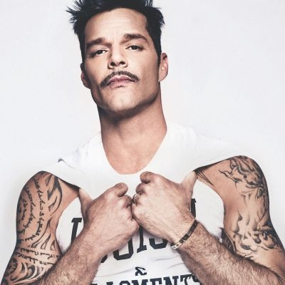 """""""Gostaria que fossem gays"""", diz Ricky Martin sobre filhos gêmeos"""