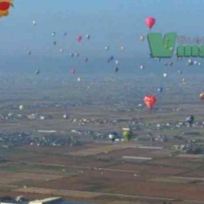 Um balão familiar