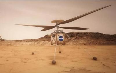 Missão Marte: helicóptero está pronto para planeta vermelho