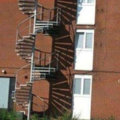 Escada de exercício