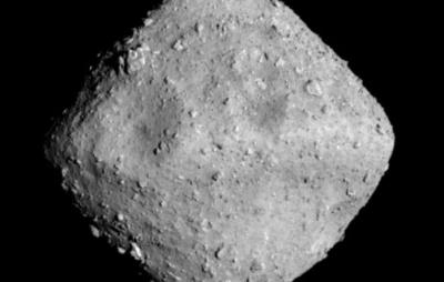 Espaçonave japonesa abre nova cratera em um asteroide