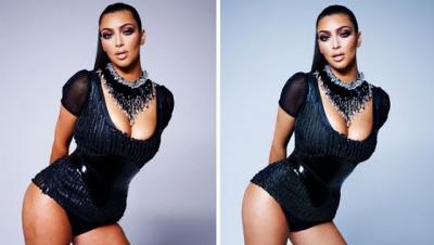 Celebridades antes e depois do Photoshop