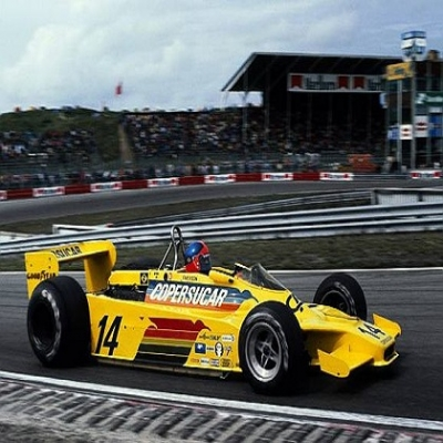Copersucar-Fittipaldi - primeiro carro brasileiro a disputar a formula 1