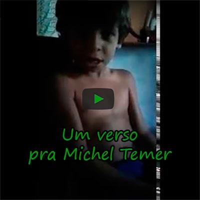 Um verso pra Michel Temer