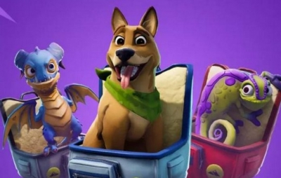 Nova atualização do Fortnite permite cachorros e outros animais de estimação