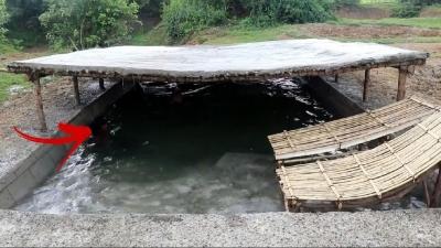 Construir piscina subterrânea de verão