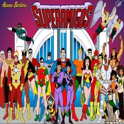 Superamigos - teve sua primeira exibição nas telinhas brasileiras  em 1975 pela