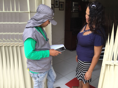 Recadastramento na cidade de Ipojuca
