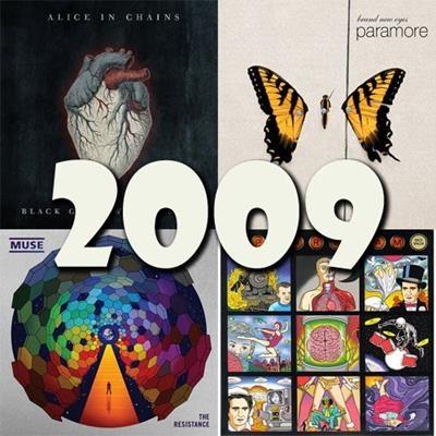 O melhor do rock em 2009