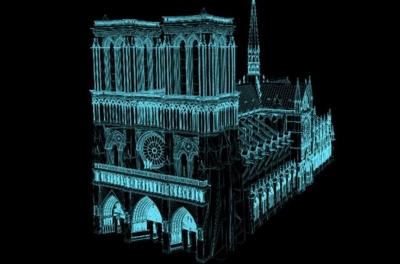 Digitalização a laser 3D de 2015 podem ajudar a reconstruir a Notre Dame