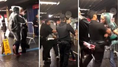 Passageiro é agredido por seguranças do metrô, em SP