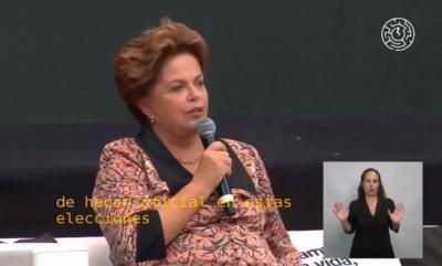 """Dilma diz que PT vai fazer """"aliança até com o Diabo"""" para combater Bolsonaro"""