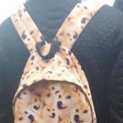 Eu quero essa mochila!