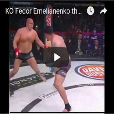 Bellator 198 KO Fedor Emelianenko x Frank Mir