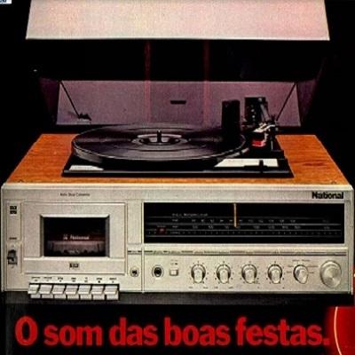 3 em 1 - No início dos anos 70 a Matsushita (atualmente Panasonic) lançou o prim