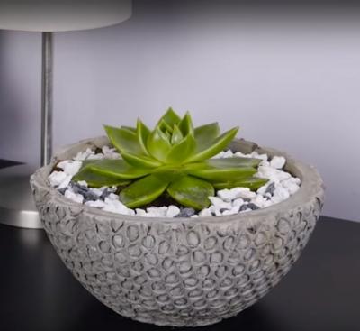 Como fazer lindos objetos usando cimento
