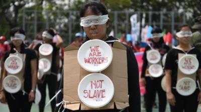 Dia do Trabalhador: as imagens do 1º de Maio pelo mundo