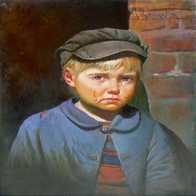 Você conhece a lenda do quadro do 'menino chorando'?