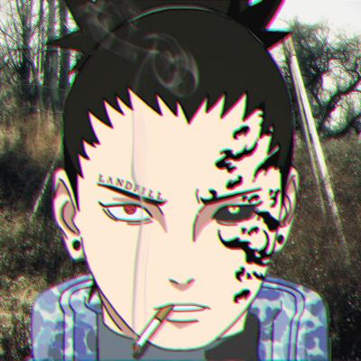 Shikamaru e o seu cigarro