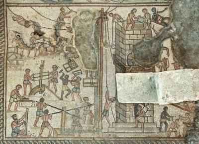 Mosaico encontrado em Israel retrata conquista de Canaã