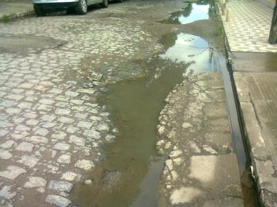 Entupimento na Rondônia foi solucionado (Antes e Depois)