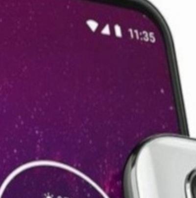Motorola One Action tem visual