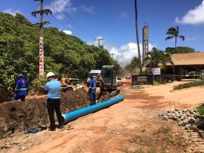 Obras de Saneamento em Pernambuco