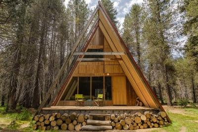 10 Casas triangulares que você pode alugar agora mesmo