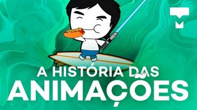 A história das animações