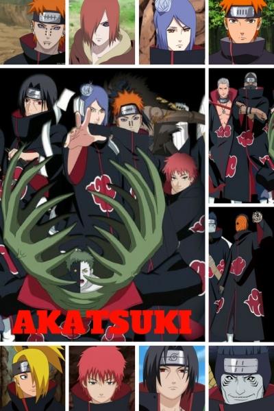 Akatsuki - Anime Naruto