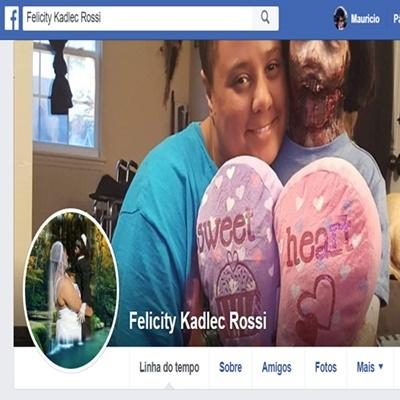 O casal mais estranho do Facebook ta chocando a galera